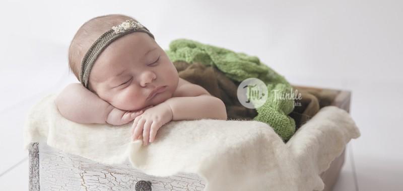{ Sesión de fotos de bebé de un mes } - CARMEN