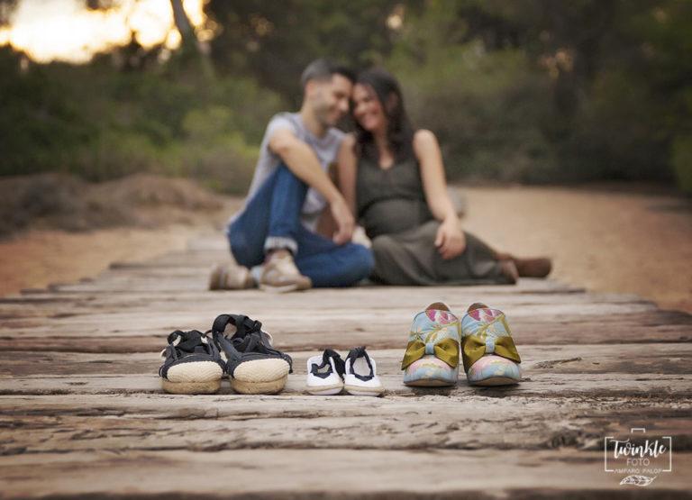 fotos de embarazo en exteriores en valencia
