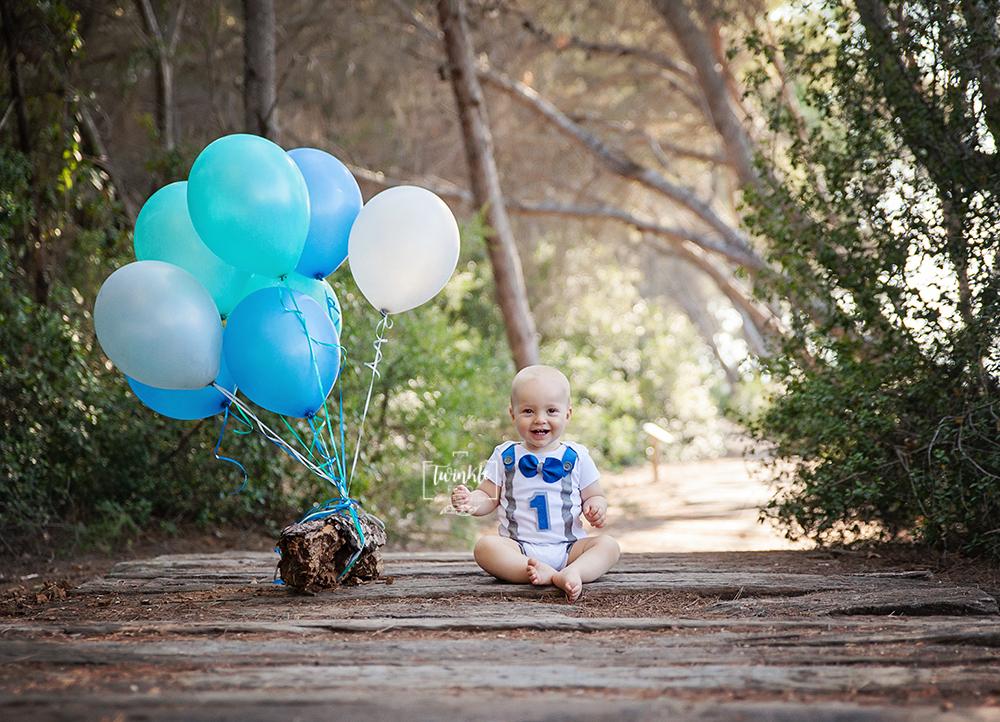 fotos exteriores cumpleaños globos
